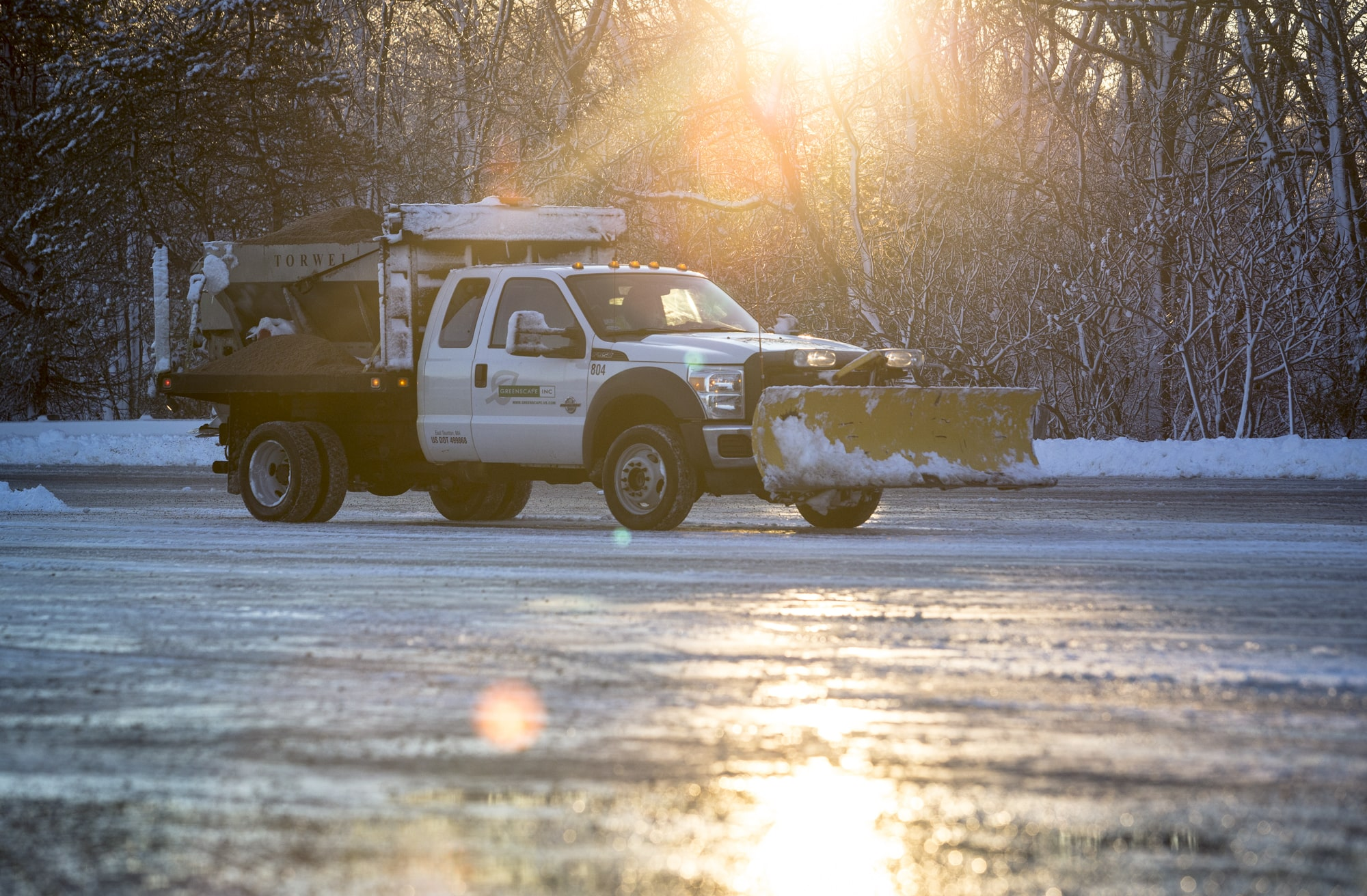 Greenscape offers multisite snow management to its customers.