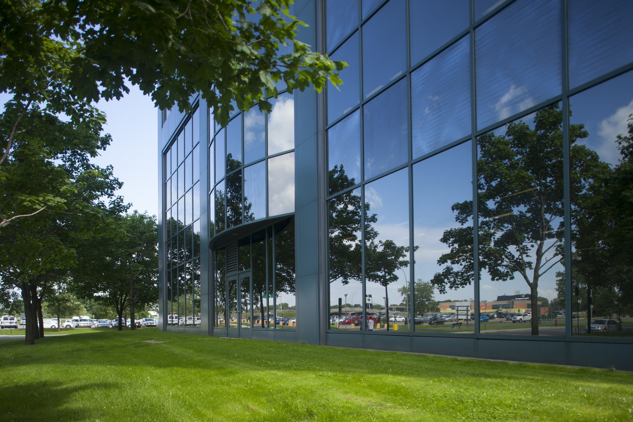 Greenscape can design a new or enhance a current commercial landscaping model.