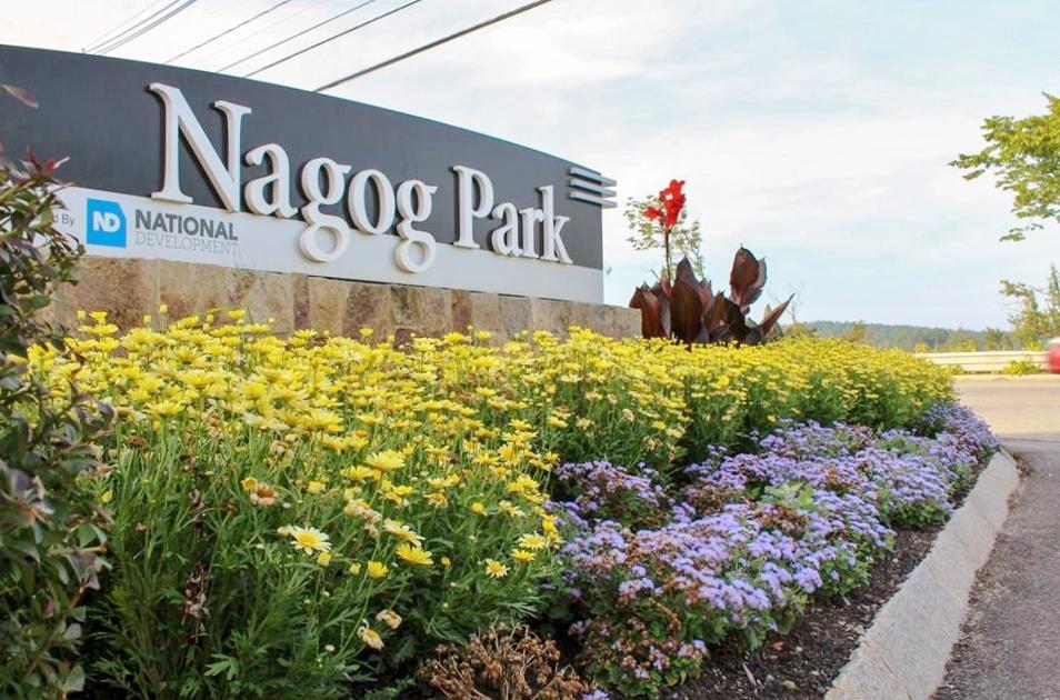 Nagog Park Signage