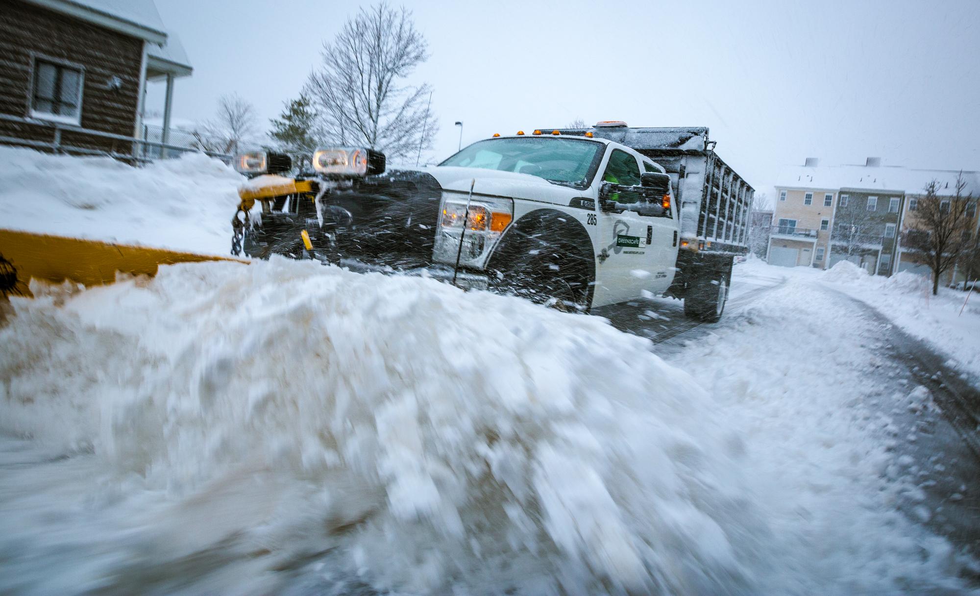 Greenscape Snow Plow Truck