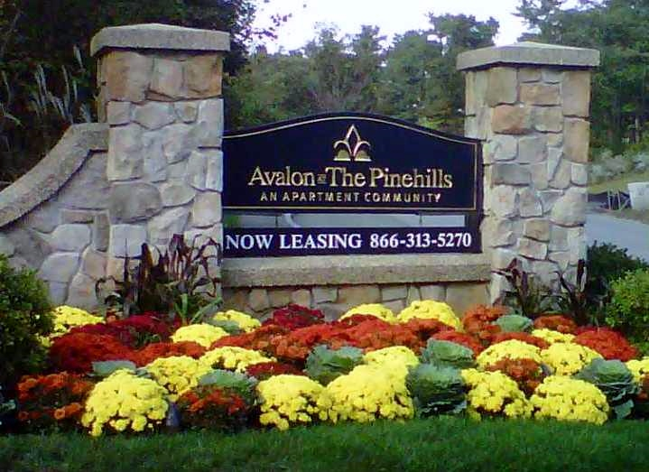Apartment Landscaping at Avalon at the Pinehills
