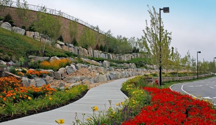 Multi-Level Landscaping Design