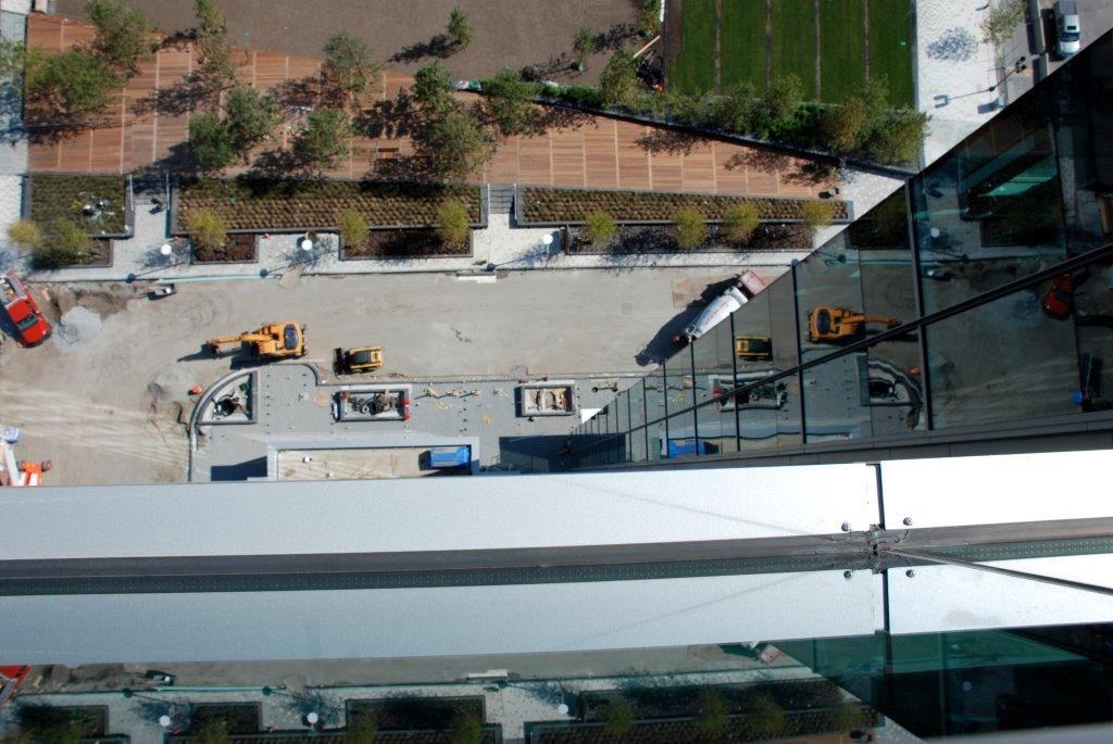 Fan Pier Aerial View