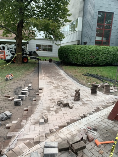 Landscape Construction for Corporate Offices